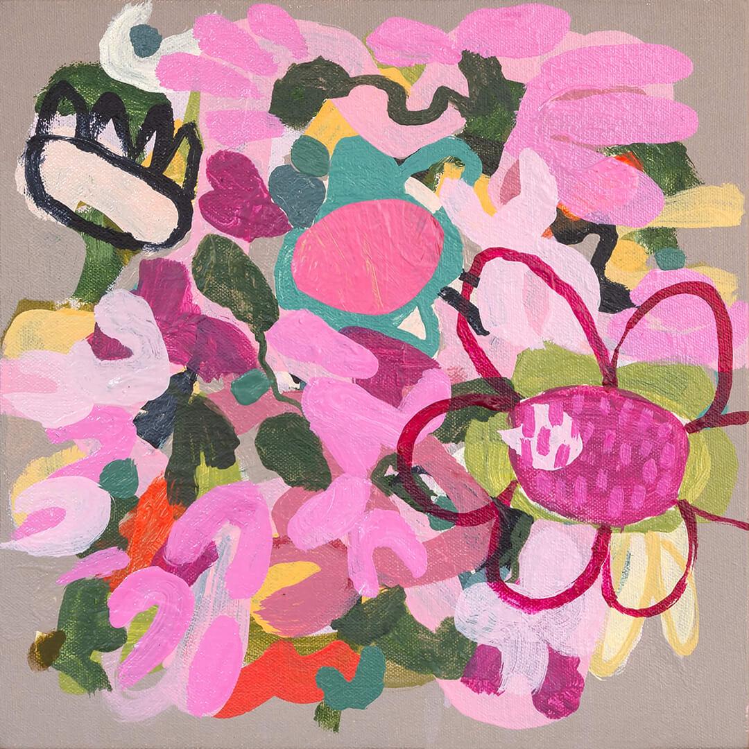 Wild Flowers 1, by South African artist Tracy Algar