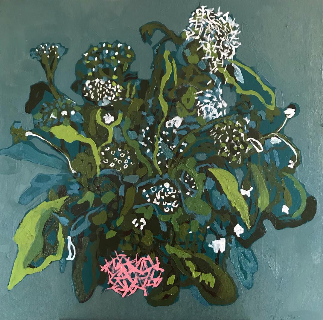 Biophilia #1 - Oil on Canvas - 75x75cm