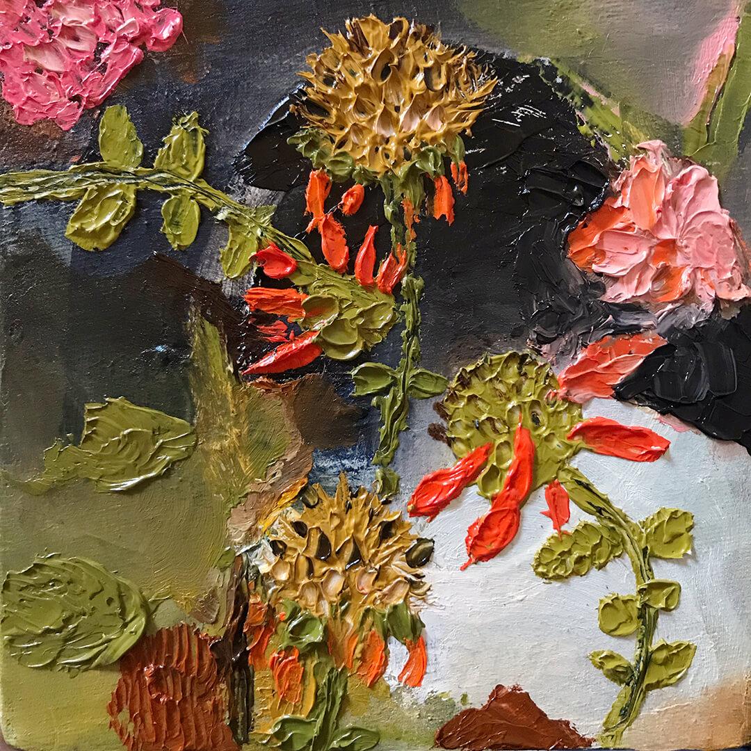 Wilde-Dagga - Oil-on-canvas - 20x20cm