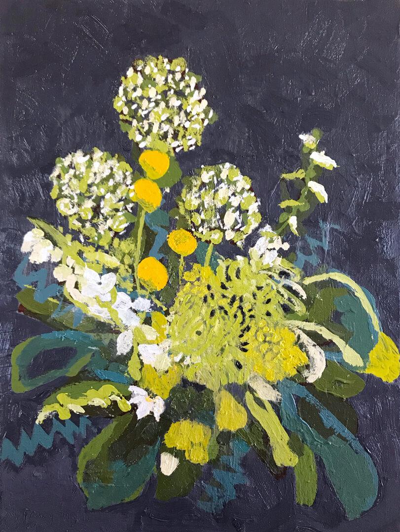 Biophilia #2 - Oil on canvas - 54x40cm