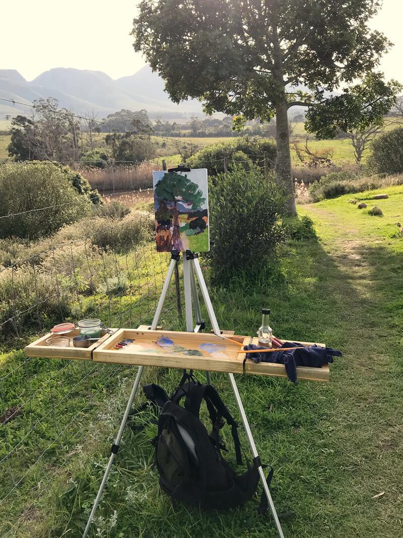 Plein Air Painting Classes in Stanford (near Hermanus)